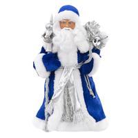 Кукла Magic Time Дед Мороз в синем костюме (размеры 15.5x8.5x30.5 см)