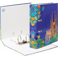 Папка-регистратор Attache Selection Travel Spain 75 мм разноцветная
