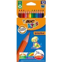 Карандаши цветные Bic Kids Evolution 12 цветов шестигранные
