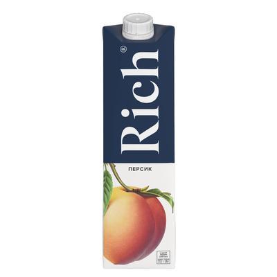 Сок Rich персиковый 1 л