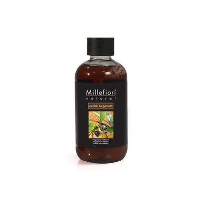 Сменный блок (рефилл) Millefiori Milano Natural Сандал и бергамот 250 мл