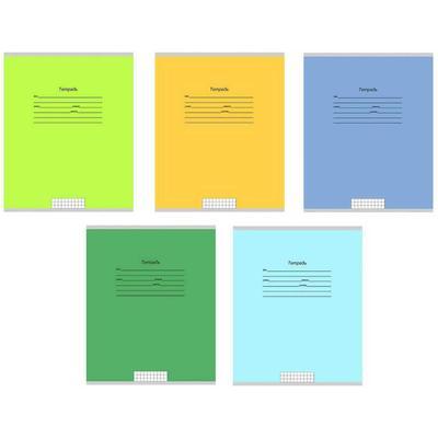 Тетрадь школьная Проф-пресс Школьная классика А5 12 листов в линейку (обложка в ассортименте)