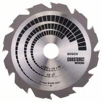 Диск пильный Bosch по строительной древесине 190х30 мм (2608640633)