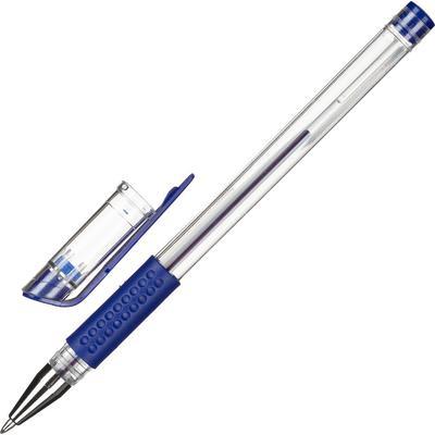 Ручка гелевая Attache Economy синяя (толщина линии 0.3-0.5 мм)