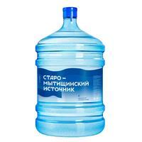 Бутилированная питьевая вода  Старо-Мытищинский Источник 19 л (возвратная тара)
