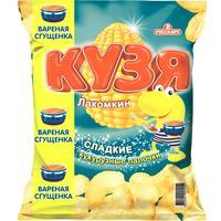 Кукурузные палочки Кузя Лакомкин с вареной сгущенкой 65 г