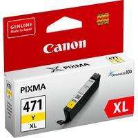 Картридж струйный Canon CLI-471XL Y 0349C001 желтый повышенной емкости оригинальный