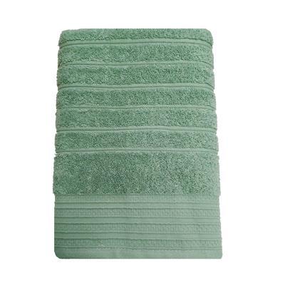 Полотенце махровое Страйп 50х90 см 500 г/кв.м светло-зеленое