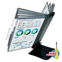 Демосистема настольная А4 10 панелей серого цвета Promega office