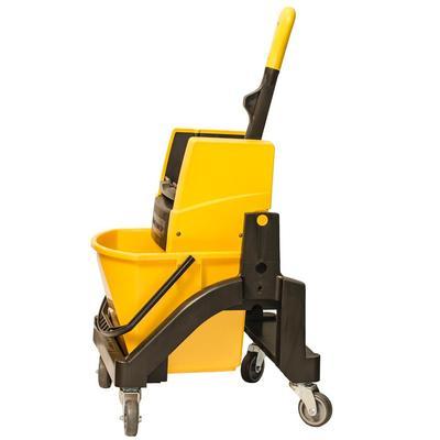 Тележка Vermop для влажной уборки Aquva 1х17 л 034805 жёлтая