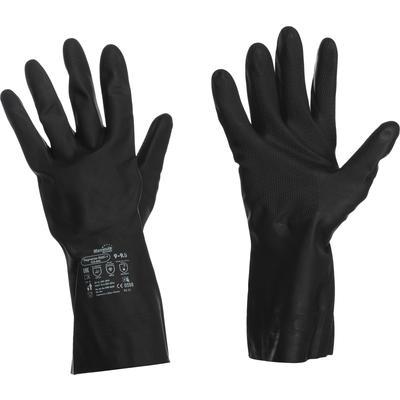 Перчатки Manipula КЩС-1 L-U-03/CG-942 латексные черные (размер 9, L)