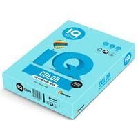 Бумага цветная для печати IQ Color голубая пастель МВ30 (А3, 160 г/кв.м, 250 листов)