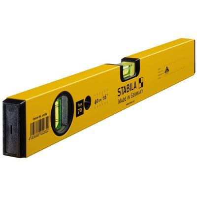 Уровень пузырьковый STABILA 70 2 глазка 400 мм (02282)