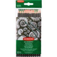 Набор карандашей чернографитных Derwent Academy Sketching Hang Pack 12 штук 5H-6B