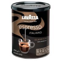 Кофе молотый Lavazza Espresso 250 г (жестяная банка)