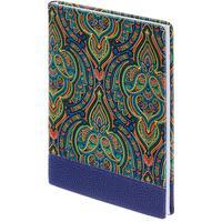Ежедневник недатированный InFolio Oriental искусственная кожа А5 96 листов синий (140х200 мм)