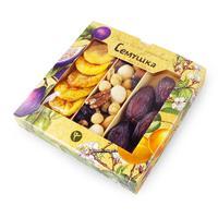 Коктейль Семушка смесь орехов с королевскими финиками и персиками 230 г