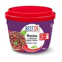 Фасоль в томатном соусе с мясом Beef On 380 г