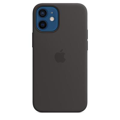 Чехол - крышка Apple Silicone Case MagSafe для iPhone 12 mini черный MHKX3ZE/A