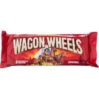 Печенье бисквитное Wagon Wheels оригинальное с суфле и глазурью 216 г