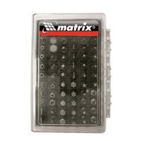 Набор бит Matrix с магнитным адаптером в пластиковом боксе 61 штука (артикул производителя 11387)