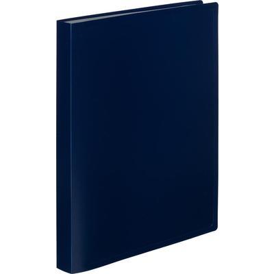 Папка файловая на 40 файлов Attache A4 25 мм синяя (толщина обложки 0.4 мм)