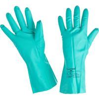 Перчатки Ампаро Риф 447513 из нитрила зеленые (размер 10, XL)