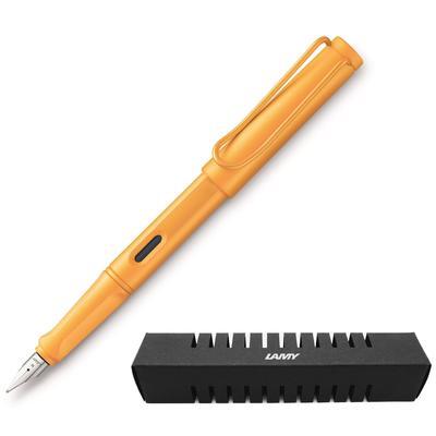 Ручка перьевая LAMY Safari цвет чернил синий цвет корпуса манго (артикул производителя 4034841)
