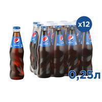 Напиток Pepsi газированный 0.25 л (12 штук в упаковке)