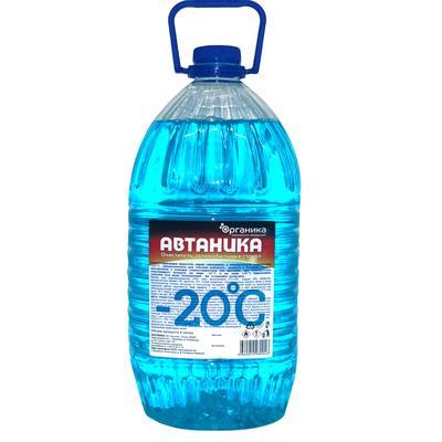 Жидкость незамерзающая Автаника - 20°С 4 л ПЭТ