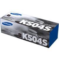 Тонер-картридж Samsung CLT-K504S SU160A черный оригинальный