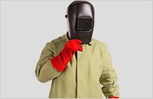 Одежда и маски для сварщиков