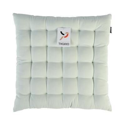 Подушка на стул (сидушка) Tkano Wild 40х40 cм полиэстер/хлопок мятная