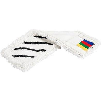 Насадка моп плоская Vileda Professional МикроСпид Плюс КомбиСпид микроволокно с абразивами/ПЭС 50 см белая (арт. производителя 143253)