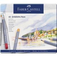 Карандаши акварельные Faber-Castell Goldfaber Aqua 48 цветов