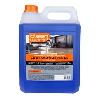 Средство для мытья пола Чисто Clean World 5 л