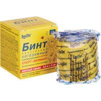 Бинт самофиксирующийся Вариант Смайл 5х450 см желтый