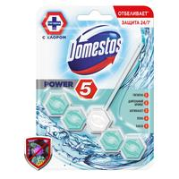 Блок для унитаза  гигиенический с дезинфицирующим эффектом Domestos Power 5 Кристальная чистота