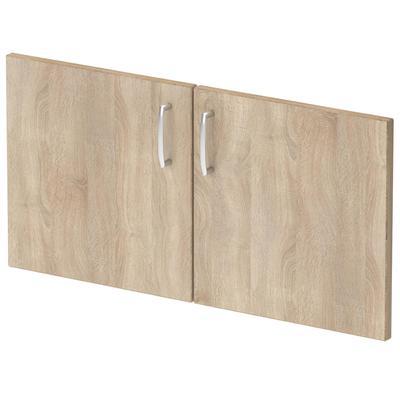 Двери низкие Easy One (дуб сонома, ЛДСП, 2 штуки, 760х380 мм)