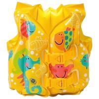Жилет надувной детский Intex Рыбки 41х30 см