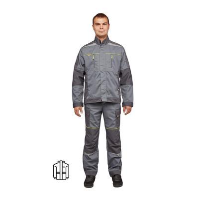 Куртка рабочая летняя мужская Nайтстар Проксима серая (размер 48-50, рост 170-176)