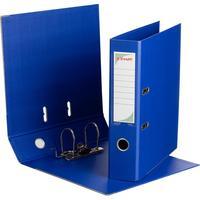 Папка-регистратор Комус Стандарт 75 мм синяя