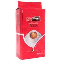 Кофе молотый Caffe Molinari Rossa 250 г (вакуумный пакет)
