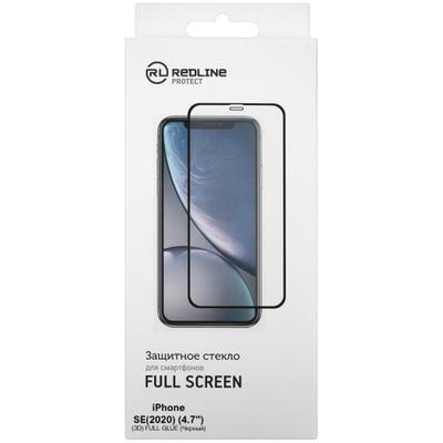 Защитное стекло Red Line для Apple iPhone SE черное УТ000020570