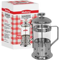 Френч-пресс Mallony стекло/металл 600 мл (артикул производителя B535 950042/950146)
