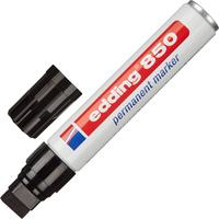 Маркер перманентный Edding 850/1 черный (толщина линии 5-16 мм) клиновидный наконечник