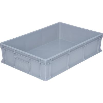 Ящик (лоток) универсальный из ПНД 600х400х140 мм серый
