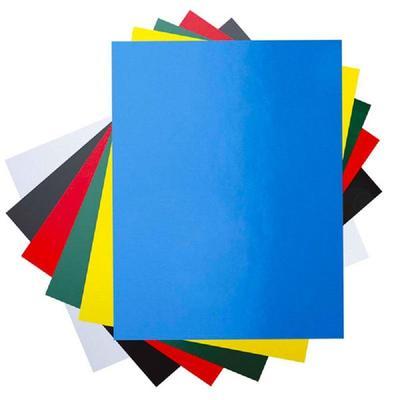 Обложки для переплета картонные  А4 250 г/кв.м синие глянцевые (100 штук в упаковке)