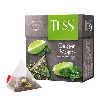 Чай Tess Ginger Mojito 20 пакетиков