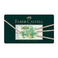 Карандаши цветные пастельные Faber-Castell Pitt Pastel 36 цветов (металлическая коробка)